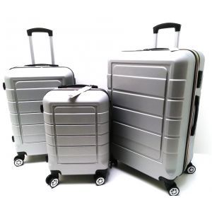 Set trolley ABS 007/3 Argento CLACSON
