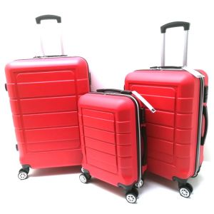 Set trolley ABS 007/3 Rosso CLACSON