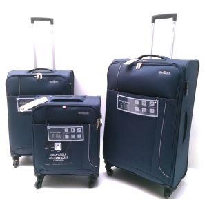 Set Trolley Tessuto 12312-blu