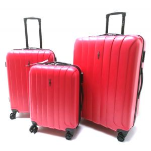 Set Trolley ABS 301 rosso