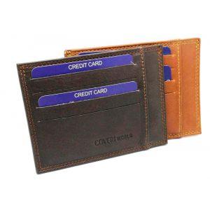 Porta card in pelle 7307.000921 COVERI WORLD