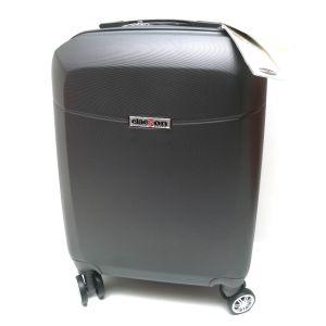 Trolley abs bagaglio cabina 8046/1-grigio-scuro