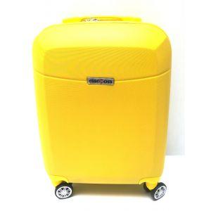 Trolley abs bagaglio cabina 8046/1-giallo