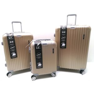 SET TROLLEY ABS 868/3 Champagne