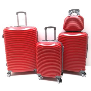 SET TROLLEY ABS BL106/4 ROSSO