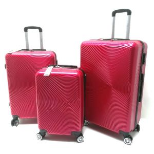 SET TROLLEY ABS BL220/3 ROSSO