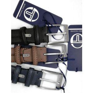 Cintura in pelle C159/35 Sergio Tacchini